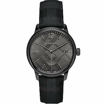Burberry BU10010 Check gestempelt Runde Zifferblatt 40mm Men's Uhr