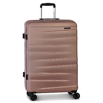 Fabrizio Worldpack Montreal Women's Trolley L, 4 roues, 75 cm, 95 L, rose