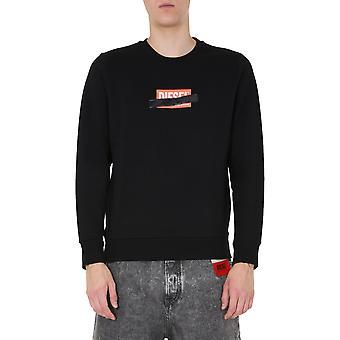 Diesel 00sef40kaxu9xx Mænd's Sort bomulds sweatshirt