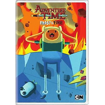 Cartoon Network: Adventure Time - Frost & Fire 9 [DVD] USA import