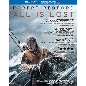 All Is Lost [BLU-RAY] USA import