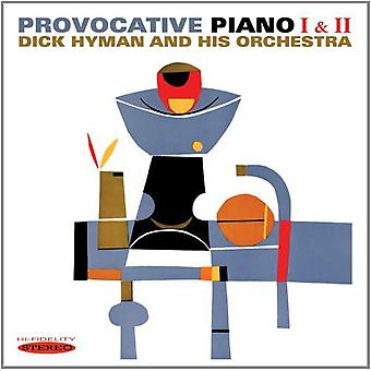 Dick Hyman - Provocative Piano I & II [CD] USA import