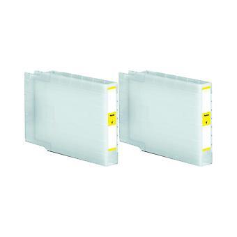 ل T9074 أبسون روديتوس 2 x استبدال الحبر وحدة Yellow(ExtraHighYield) متوافق مع القوى العاملة WF برو-6090، القوى العاملة برو، برو القوى العاملة WF-6590