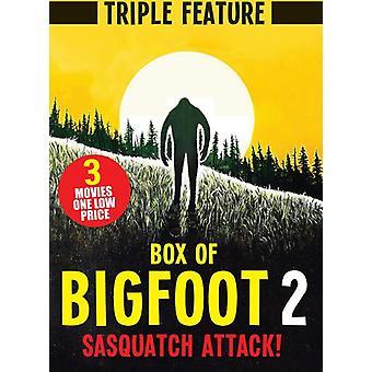 Box of Bigfoot 2: Sasquatch Attack (Triple Feature [DVD] USA import
