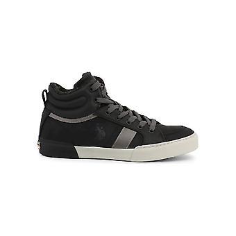 U.S. Polo Assn. - Shoes - Sneakers - ARMAN7099W9_CY1_BLK - Men - black,gray - EU 41