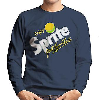 Sprite 80s Retro Logo Men es Sweatshirt