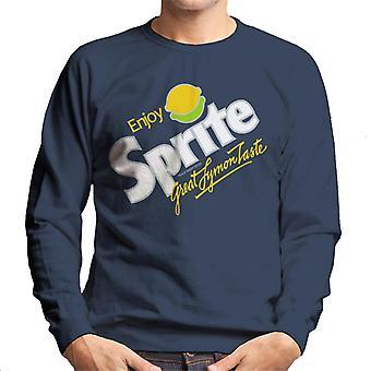 Sprite 80s retro logo heren Sweatshirt