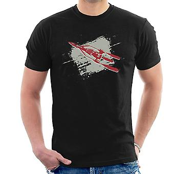 Thunderbirds 3 Space Rocket Grafiska Män & apos; s T-shirt