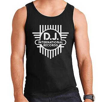 DJ International Classic Cross Logo Men's Vest