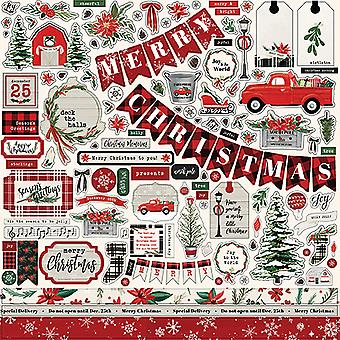 Carta Bella Christmas Market 12x12 Inch Element Sticker