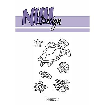 NHH Design Sea Turtles Clear Stamps