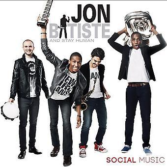 Jon Batiste & Stay Human - Social Music [CD] USA import