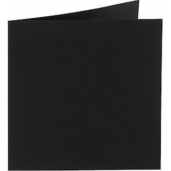 Papicolor 6X Double Card 132X132mm Raven-Black