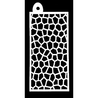 IndigoBlu Mosaic 6x3 Inch Stencil