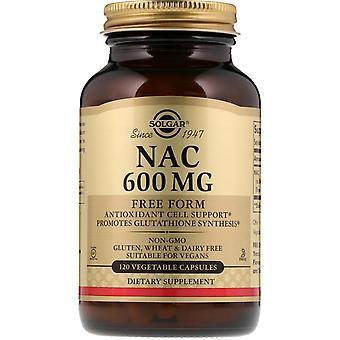 Solgar, NAC, 600 mg, 120 Vegetable Capsules