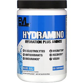 EVLution Nutrition, Hydramino, Blue Raz, 10.37 oz (294 g)