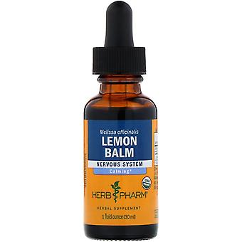 Herb Pharm, Citroenmelisse, 1 fl oz (29,6 ml)