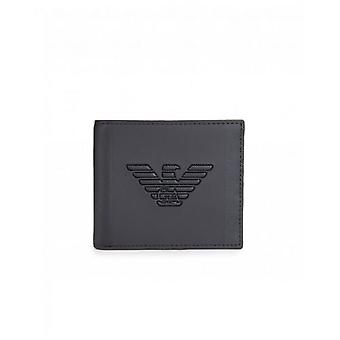 Armani Embossed Eagle Bilfold Wallet