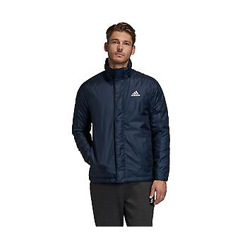 Adidas Men's Badge of Sport Insulated Jacket- FI0610