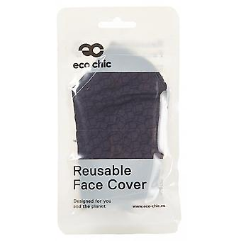 Eco-Chic Eco-chic Face Cover (black Cubes)