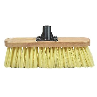 Faithfull FAIBRSOFT12R Soft Cream PVC Bristle Broom Head 300mm
