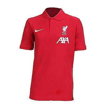 2020-2021 نادي ليفربول بولو شيرت (أحمر) - أطفال