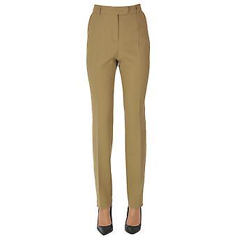 'S Max Mara Ezgl137128 Femmes-apos;s Pantalon en laine beige