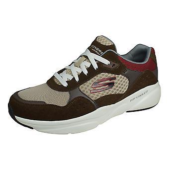 Skechers Meridian Ostwall Mens Walking Trainers / Chaussures - Brown
