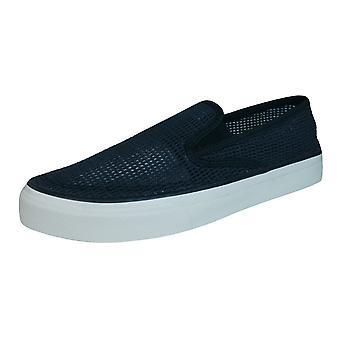 Sperry Cloud S/O Mens Slip op boot brei / Deck schoenen - zwart