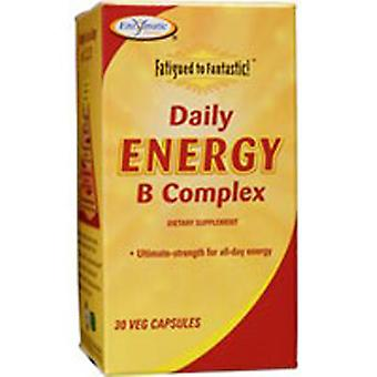Enzymatic Therapy Fatigued To Fantastic Daily Energy B Complex, 30 Caps