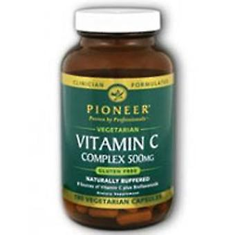 Pioneer Nutritionals Vitamin C 500, 500mg, 180 ct vcaps
