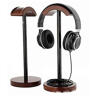 Solid Wood Display Stand Hanger Holder Rack For Gaming Headset