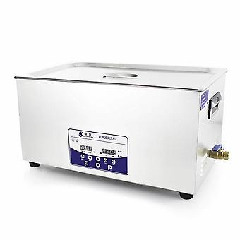 22l Professional Ultrasonic Cleaner Machine With Digital Touchpad Timer Heated Stainless Steel Tank Capacity Adjustable