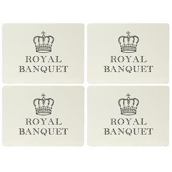 English Tableware Co. Majestic Placemats, Royal Banquet