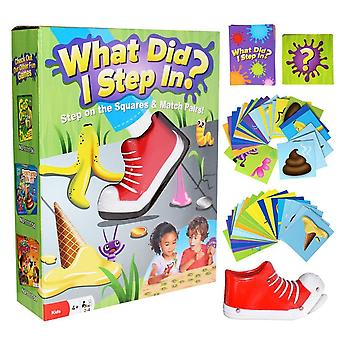 What Did I Step In Interactive Table Match Game Toy