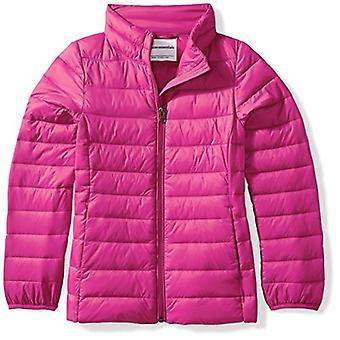 Essentials Big Girls' Lightweight Water-Resistant Packable Puffer Jack...