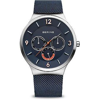Беринг мужские часы Классический серебро щеткой 33441-307
