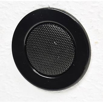 """Ceiling Recessed Speaker """"Mini"""" Halogen Look, 8cm x, 6cm Built-in, Black"""