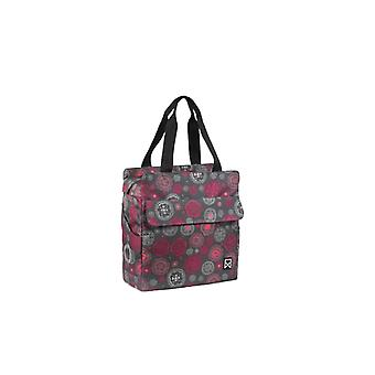 Willex Bicycle Bag Cosmos 15 L Grey and Red