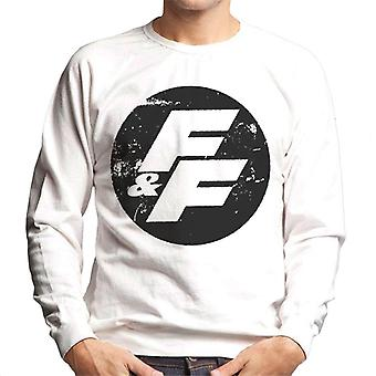 Fast and Furious FF Vintage Logo Men's Sweatshirt