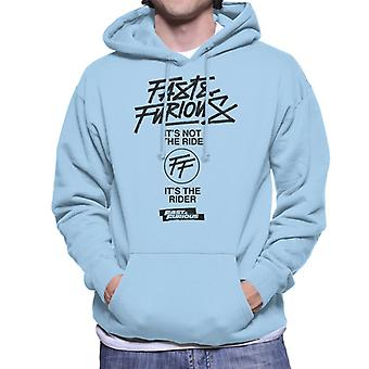 Fast and Furious Its Not The Ride Its The Rider Men's Hooded Sweatshirt