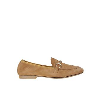 Viola Ricci Ezgl436004 Women's Brown Suede Loafers