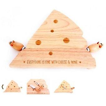 Mouse Cheese Board Set Cutting Board