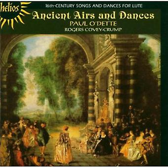 Paul O'Dette - Ancient Airs and Dances: 16th Century Songs & Dances for Lute [CD] USA import