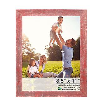 """11""""x14 Rustic Red Picture Frame"""