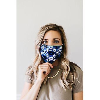 Starburst Satin Face Mask
