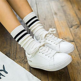 School Cotton Pack Embroidered Expression Happy Fashion Ankle Summer Candy