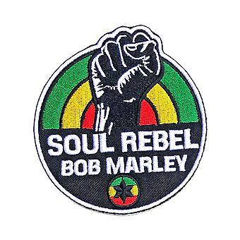 Bob Marley Patch Soul Rebel uusi virkamies