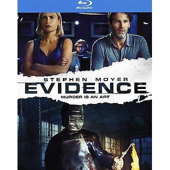 Evidence [BLU-RAY] USA import