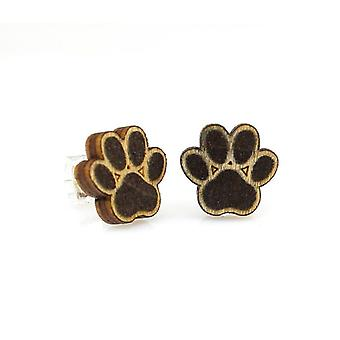 Puppy Paw Stud Earrings